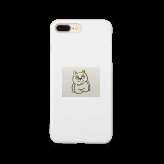 mitsuki.🥫のアナウンサー座りの柴犬 Smartphone cases