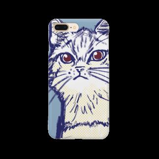 あかまふの猫のトム Smartphone cases