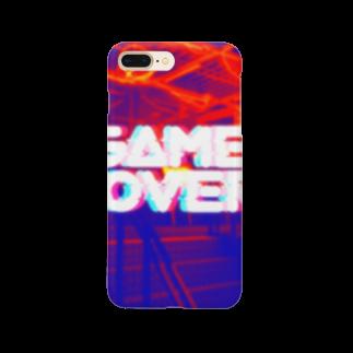 七菜のGAMEOVER Smartphone cases