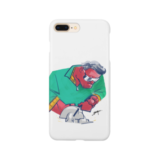 THE GANYUのダディクール 緑 Smartphone cases