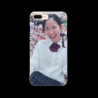 いときちの変顔のるんちゃん Smartphone cases