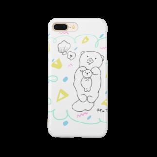 atta_aru_roomのらっこキャンディ Smartphone cases