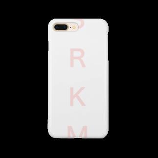 SRKMのSRKM(pink logo ver.) Smartphone cases
