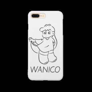 WANICOのワニコつまむ Smartphone cases