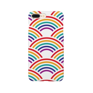 SEIGAIHA01(カラーR) Smartphone cases