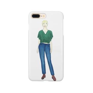 ウェスタンデニム Smartphone cases