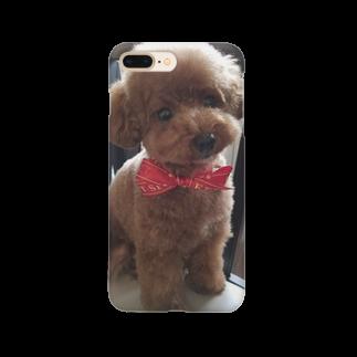 【COLOM.】コロ。のトイプードル【アンジー犬】#55 Smartphone cases
