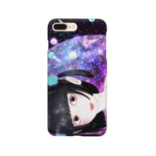 夜空カラフルアイス Smartphone cases
