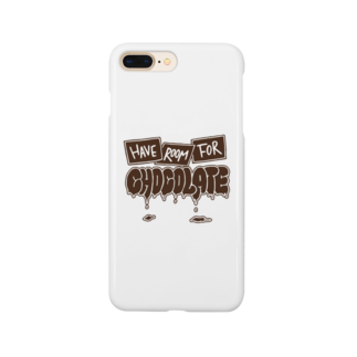 yandoodleのHave room for chocolate Smartphone cases