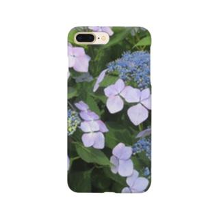 ハイドランジア模様 Smartphone cases