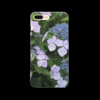 Dreamscapeのハイドランジア模様 Smartphone cases