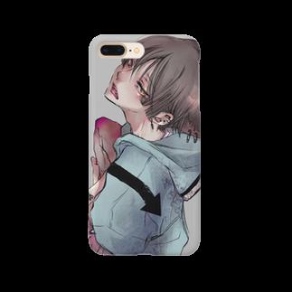 蒼杜吏の猫彼 Smartphone cases