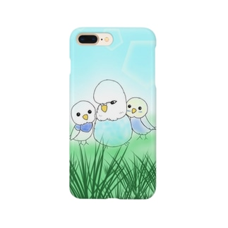 志乃ちゃんによるりおちゃんちの小鳥たち Smartphone cases