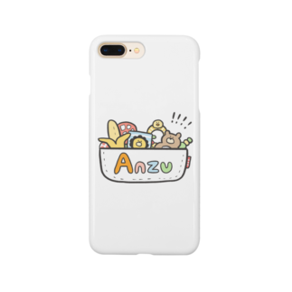 ゆゆ丸のあんず◎ Smartphone cases