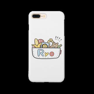ゆゆ丸のりょう◎ Smartphone cases