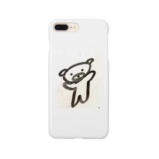 ノってるクマ Smartphone cases