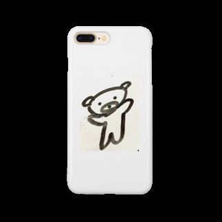 s_nemo1009のノってるクマ Smartphone cases