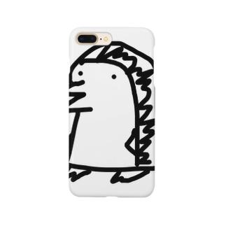 サブキャラのサブ Smartphone cases