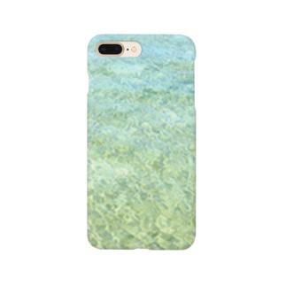 海水浴 Smartphone cases