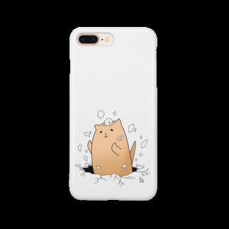むーのねこ殻やぶり Smartphone cases