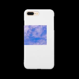 ももぱんだのSky Smartphone cases