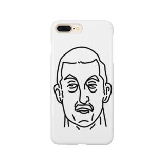 プロレス 神様 2 イラスト 偉人アート Smartphone cases