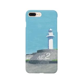 第二海堡灯台 Smartphone cases