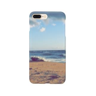 大海原を眺めて Smartphone cases