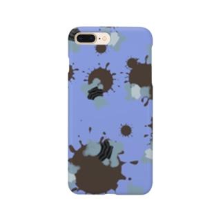 blueberry choco kuma Smartphone cases