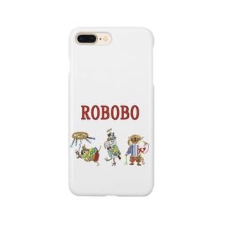 ROBOBO ロボトリオ🤖 Smartphone cases
