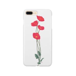 憂いに手向けるポピー Smartphone cases