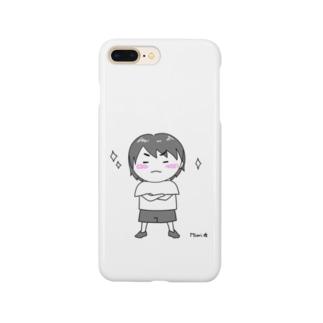 ふふーん-ぽーちゃん Smartphone cases