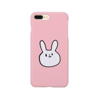 ぷりてぃーなうさぎさん Smartphone cases