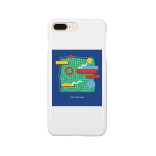 tennis court  Island Smartphone cases