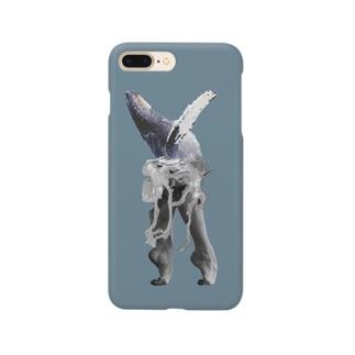 くじら Smartphone cases
