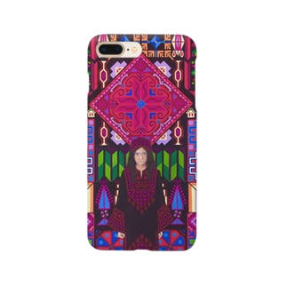 パレスチナ/パレスチナ刺繍 Smartphone cases