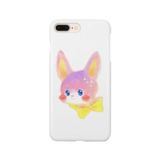 リボンうさぎ Smartphone cases