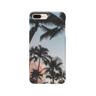 マイアミサンセット Smartphone cases