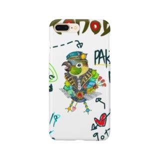 ROBOBO 「パキラロボ」 Smartphone cases
