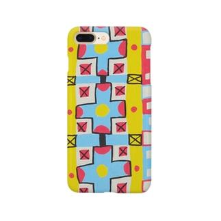 十字のパターン Smartphone cases