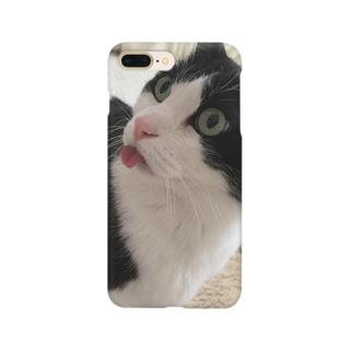 したがでてるちぢみ Smartphone cases