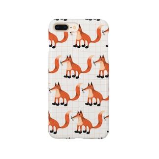 KITSUNE PATTERN Smartphone cases