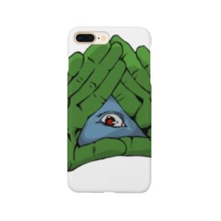 パッチリオメメ Smartphone cases