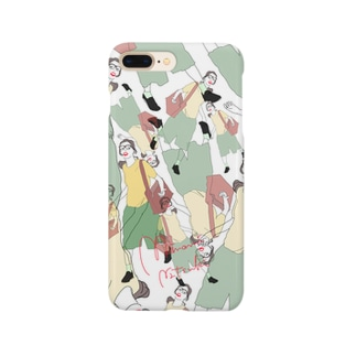 カモフラ柄 Smartphone cases