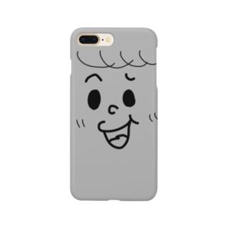 グレーなオトコノコ Smartphone cases