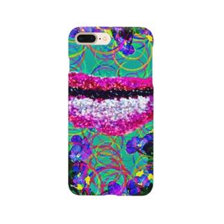蝶々唇 Smartphone cases