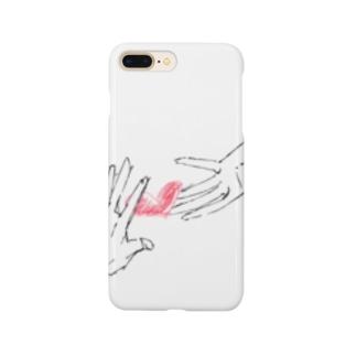 掴むハート Smartphone cases