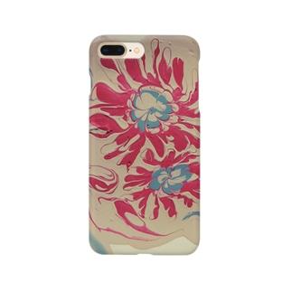 ベージュ Smartphone cases