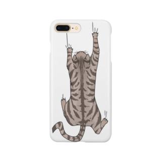 飛び付き猫 Smartphone cases