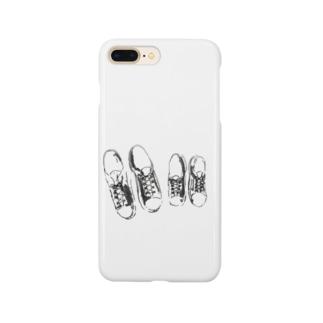 すにーかー Smartphone cases